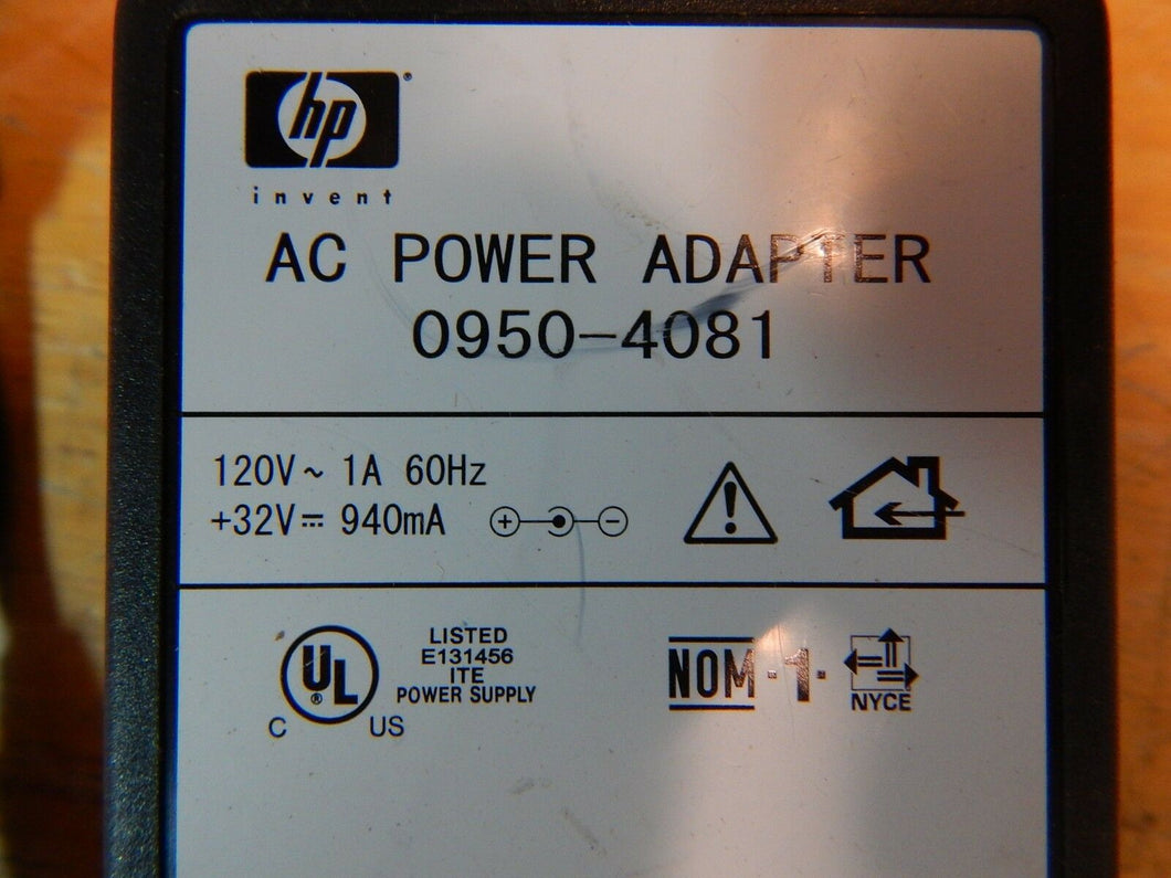 HP 0950-4081 Power Adapter for PhotoSmart 5550 7150 7155 7345 7350 7550 Printer