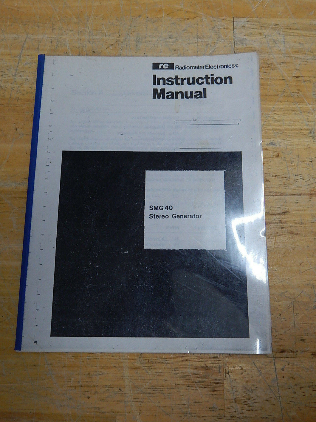 Radiometer Electronics SMG40 Stereo Generator Instruction Manual