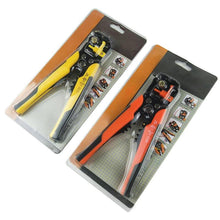 Load image into Gallery viewer, Cable Wire Stripper Cutter Crimper Automatic Multifunctional TAB Terminal Crimping Stripping Plier Tools