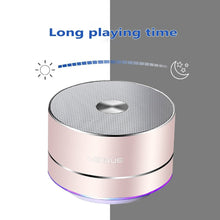 Load image into Gallery viewer, LENRUE Portable Wireless Bluetooth Speaker Stereo Portable Led Speakers with Built Mic MP3 MINI Subwoof Smart Column Loudspeaker