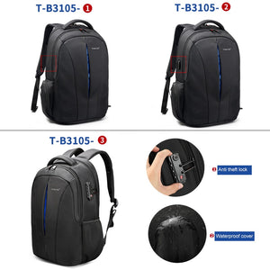 Tigernu Brand Waterproof 15.6inch Laptop Backpack NO Key TSA Anti Theft Men Backpacks