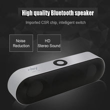 Load image into Gallery viewer, NBY-18 Mini Bluetooth Speaker Portable Wireless Speaker Sound System 3D Stereo Music Surround Support Bluetooth,TF AUX USB