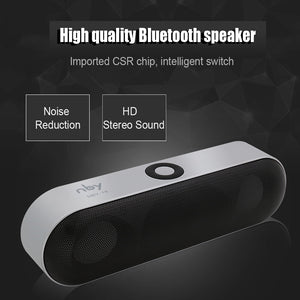 NBY-18 Mini Bluetooth Speaker Portable Wireless Speaker Sound System 3D Stereo Music Surround Support Bluetooth,TF AUX USB