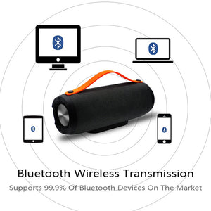 Portable Wireless Bluetooth E13 Speaker Stereo Big power 10W system TF FM Radio Music Subwoofer Column Speakers for Computer