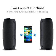 Load image into Gallery viewer, Portable Wireless Bluetooth E13 Speaker Stereo Big power 10W system TF FM Radio Music Subwoofer Column Speakers for Computer