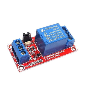 New 5V 1 Channel Level Triger Optocoupler Relay Module for Arduino