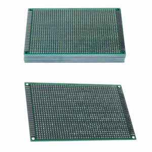 8x12cm Double Side Protoboard Circuit Tinned Universal Prototype PCB Board KW
