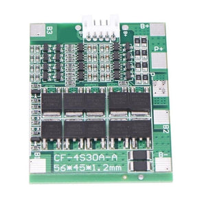 4S 30A Li ion Lithium Battery 18650 Charger BMS Pack PCB Protection Board 14.8V