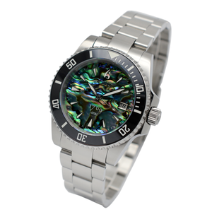 Aquacy 1769 Hei Matau Men's Automatic 300M Abalone Dive Watch ETA 2824 1769.AB.B.S.ET