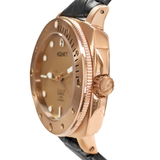 Aquacy Bronze CuSn8 Series Automatic Men's 200m Watch 44mm Bronze Dial