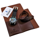 Aquacy Hei Matau Cave Diver Open Heart Men's Automatic 200M Abalone Dive Watch CD.38.AB.B.L
