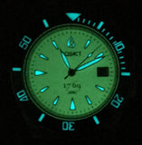 Aquacy 1769 Hei Matau Men's Automatic 300M Full Luminous Dive Watch Miyota 9015 1769.FLM.B.S