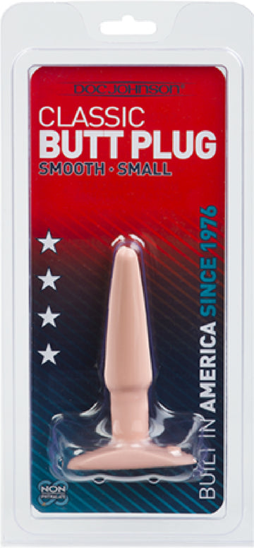 Butt Plug - Smooth - Small (Flesh)