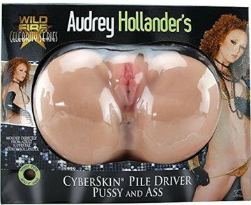 Audrey Hollander's Pile Driver Pussy & Ass