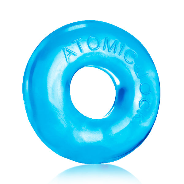 Donut 2 Cockring Large Ice Blue