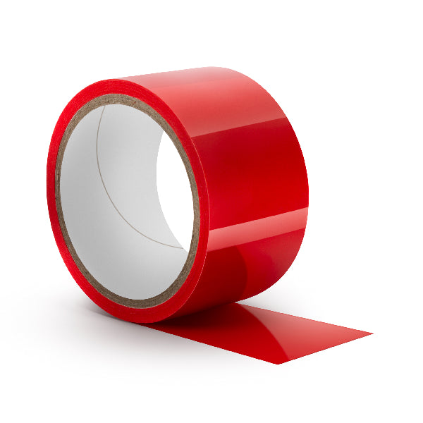 Temptasia Bondage Tape 60 Feet Red
