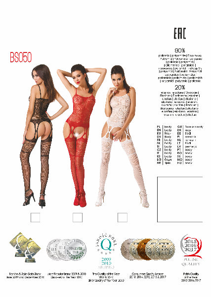 Bodystocking BS050 Black