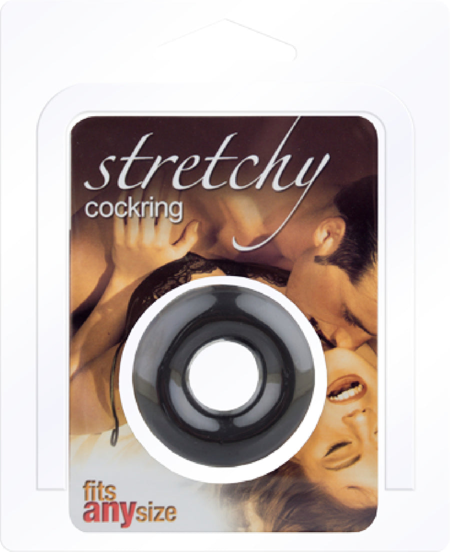 Stretchy Cockring (Black)