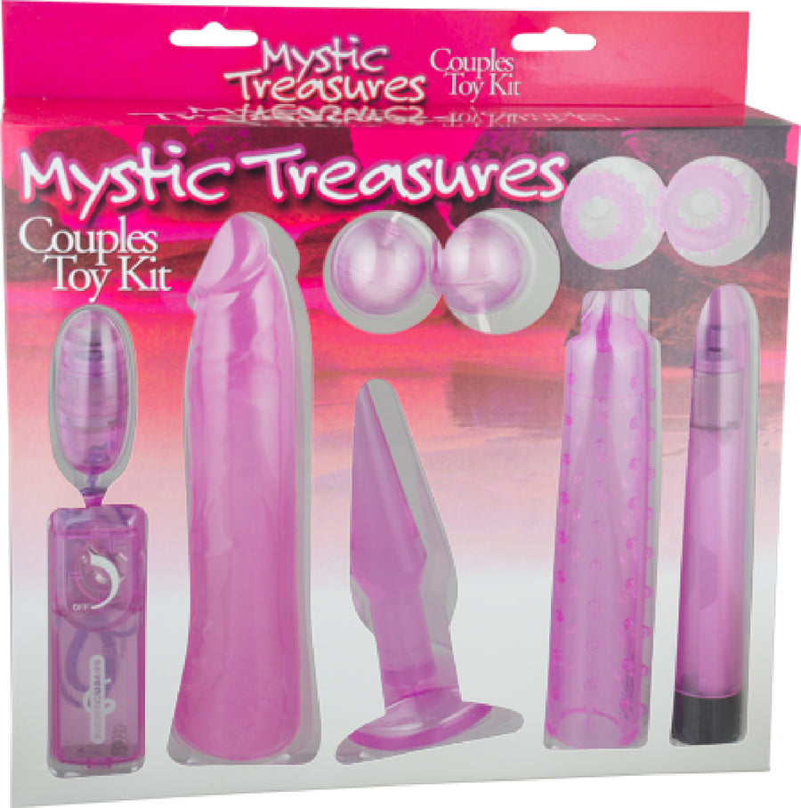 Mystic Treasures Couples Toy Kit (Pink)