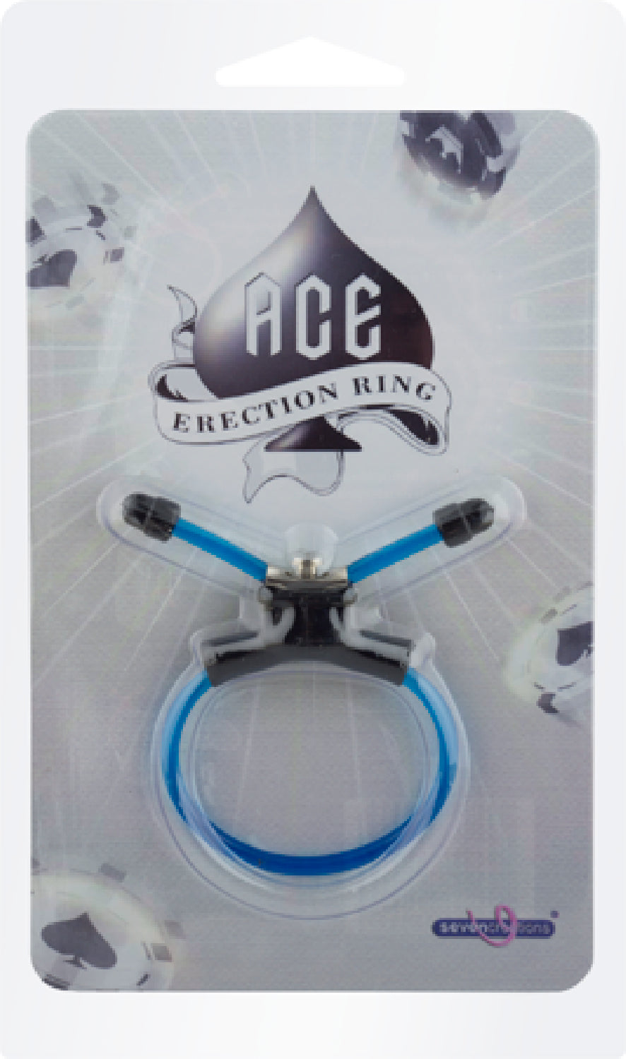 Ace Erection Ring (Blue)
