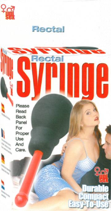 Uni-Sex Rectal Syringe