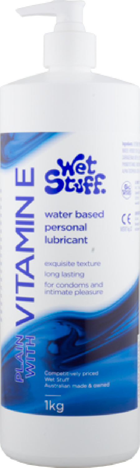 Wet Stuff Vitamin E - Pump Bottle (1kg)