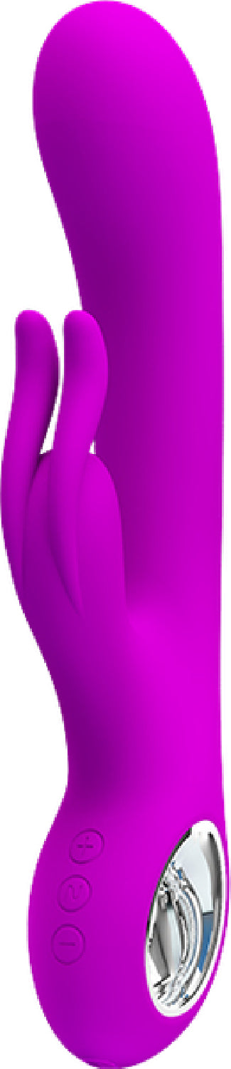 Rechargeable Hot Rabbit (Purple)