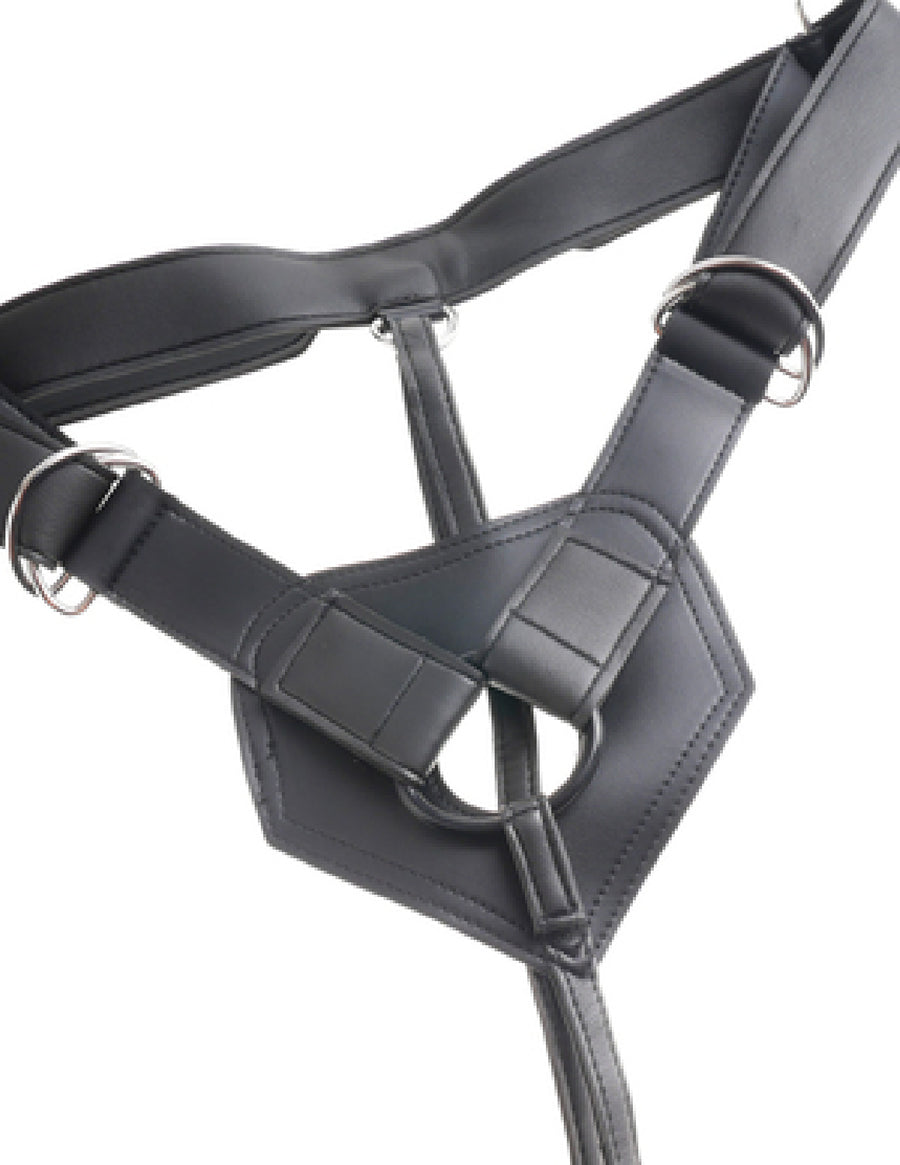 Strap-On Harness W/ 6