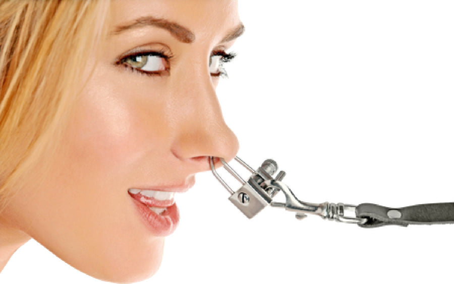Nose Shackle Stainless Steel (Silver )
