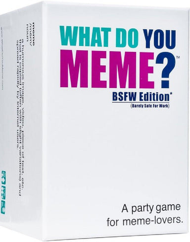What Do You Meme (BSFW Edition) - Leather & Spank
