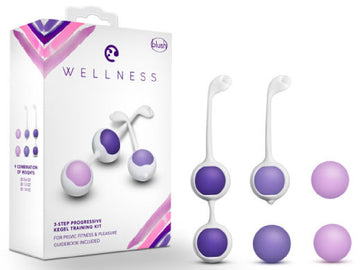 Kegel Training Kit (Purple)