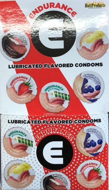 Endurance Flavored Condoms (144 X Display)