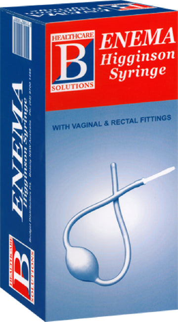 Enema Higginson Syringe