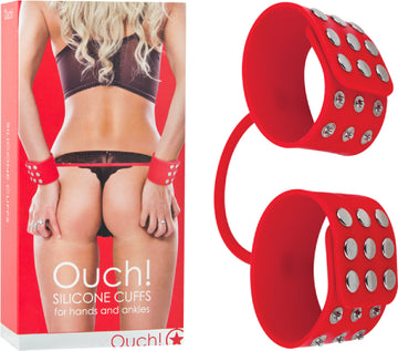 Silicone Cuffs (Red)