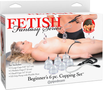 Beginner's 6 Piece Cupping Set