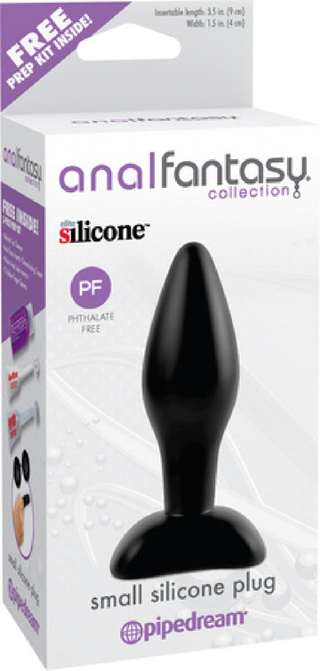Small Silicone Plug (Black)
