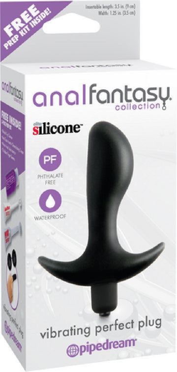 Vibrating Perfect Plug (Black)