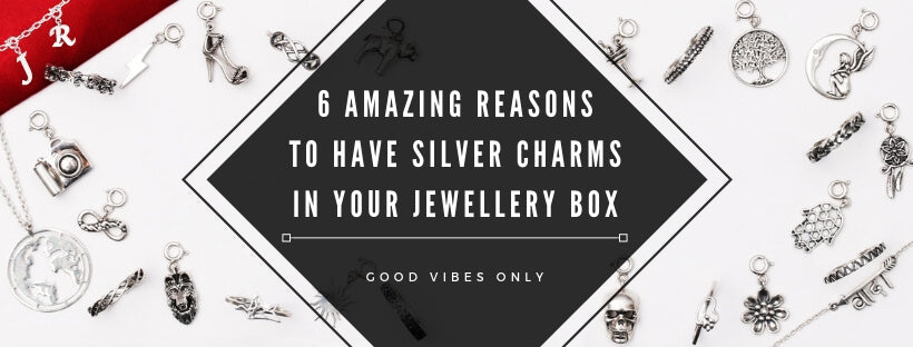 6 Amazing Reasons To Have Silver Charms In Your Jewellery Box