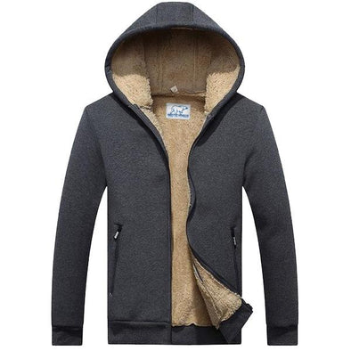 Dark Peak Canvas Fleece Parka