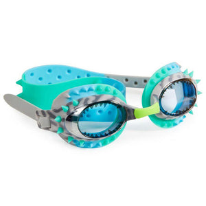 Bling20 Prehistoric Times Raptor Blue Grey Swim Goggles