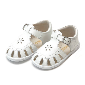 Angel Shelby White Sandal- SOLD OUT