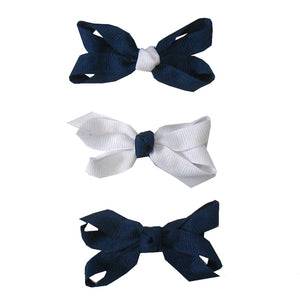 Buds and Bows Infant Royal Bows