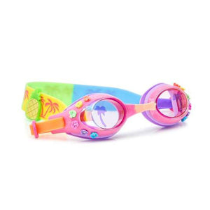 Bling20 Pink Hawaii Swim Goggles