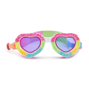 Bling20 Banana Split Heart Swim Goggles