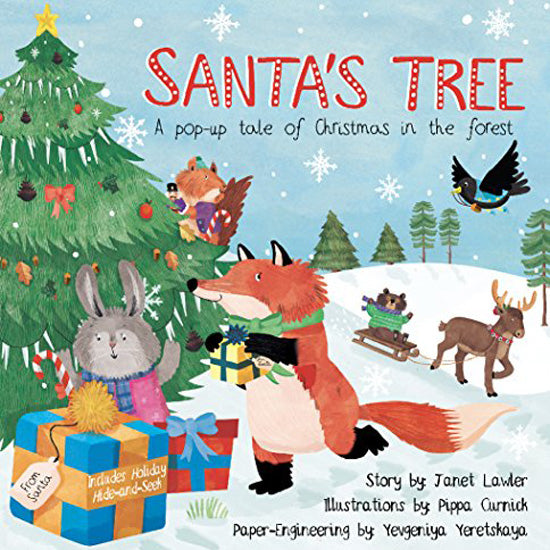 Santa's Tree - A Pop-Up Tale of Christmas in the Forest