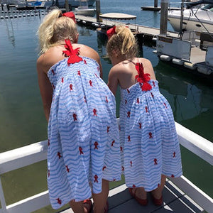 Cotton Kids Lobster Dress