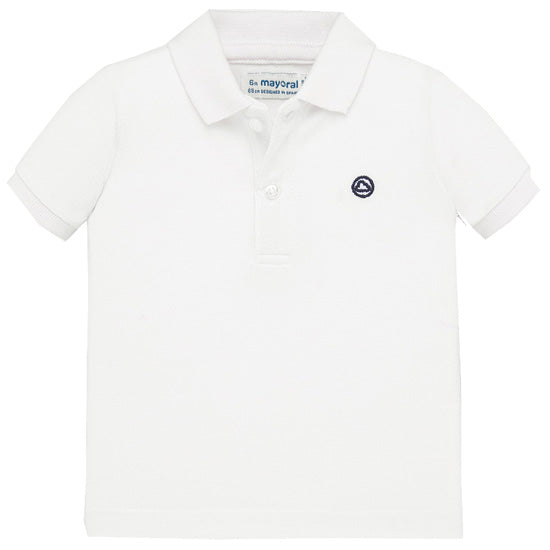 Mayoral White Polo Shirt