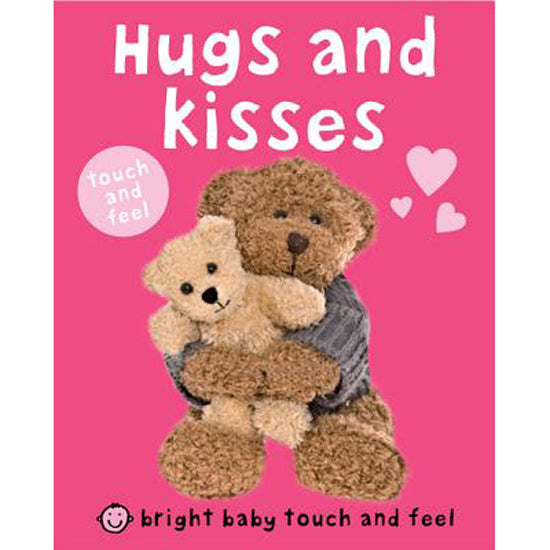 Hugs and Kisses Board Book by Roger Priddy