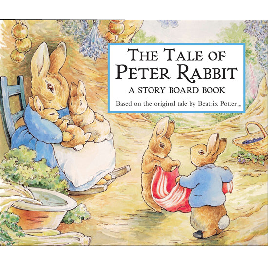 The Tale of Peter Rabbit - Hard Cover Board Book