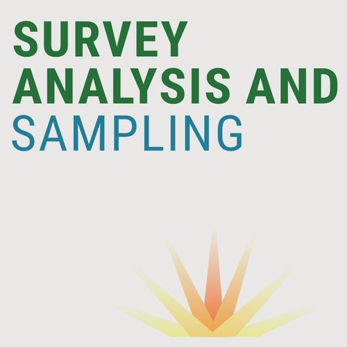 SURVEY ANALYSIS AND SAMPLING